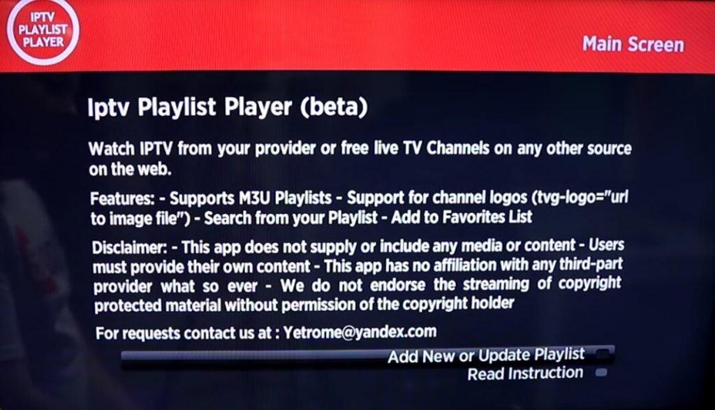 How to setup IPTV on Roku using M3U playlist player-3