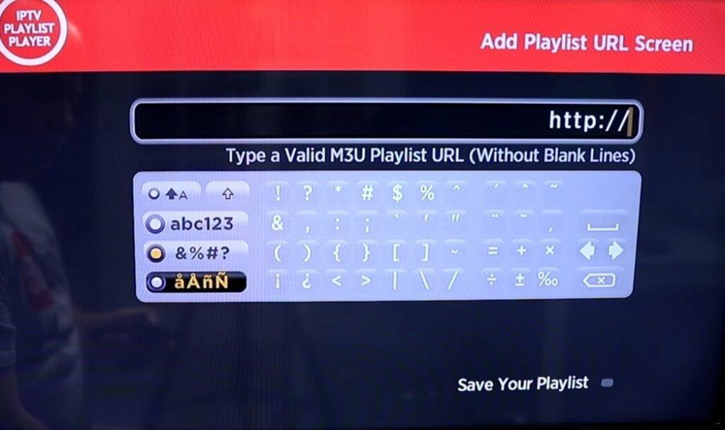 How to setup IPTV on Roku using M3U playlist player-4